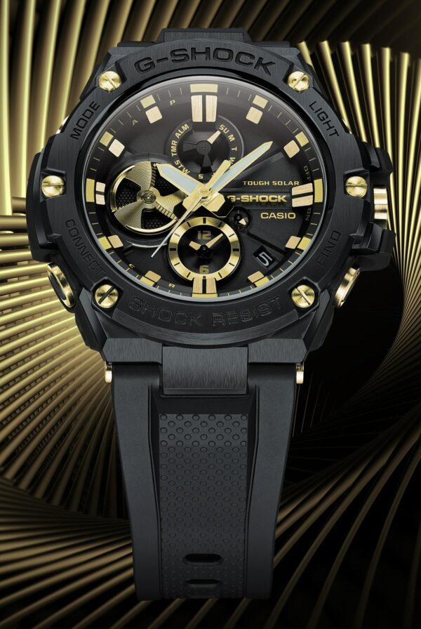 Casio G Shock G Steel GSTB100GC 1A 5 min