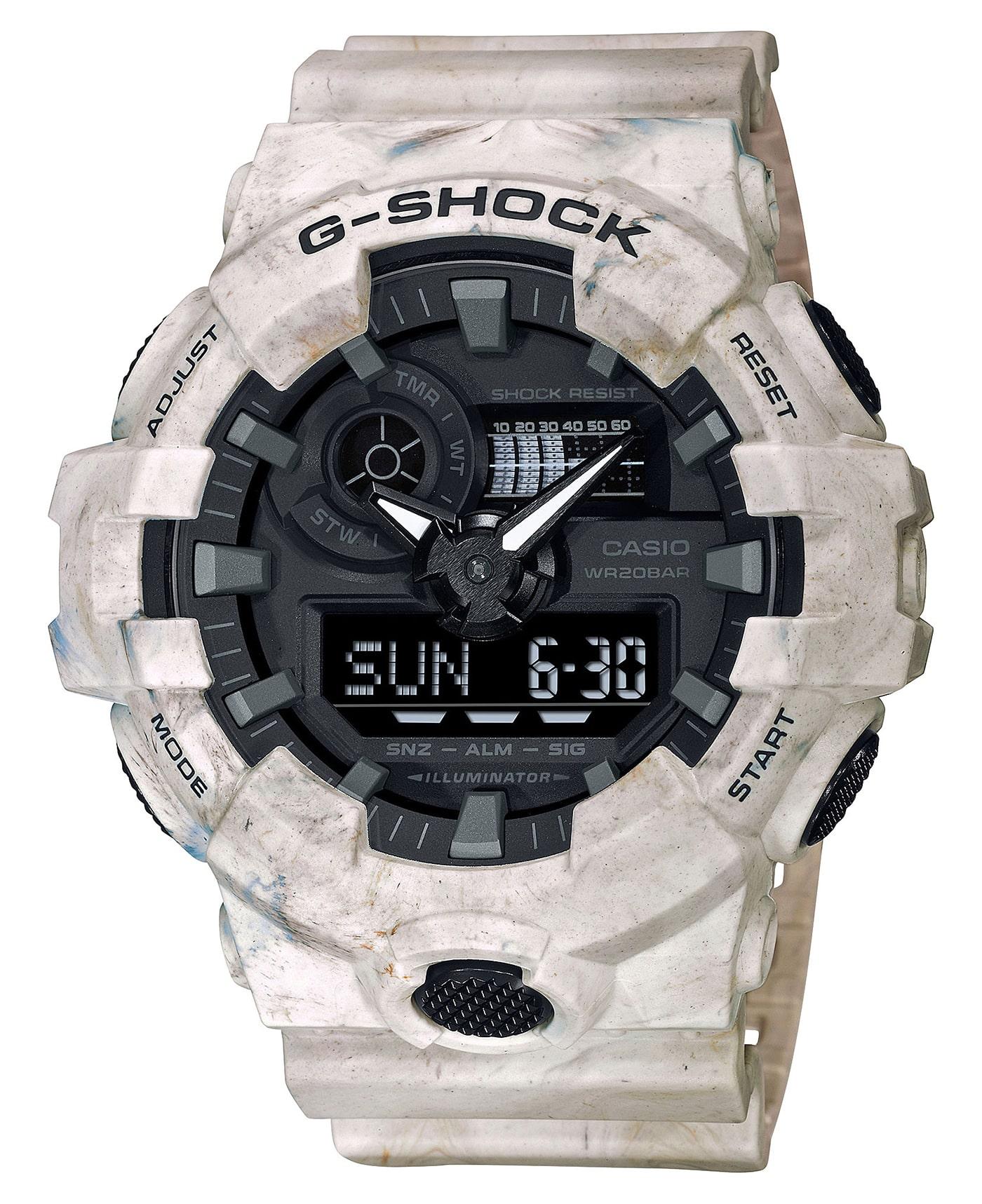 Casio G Shock Utility Marble 4 min