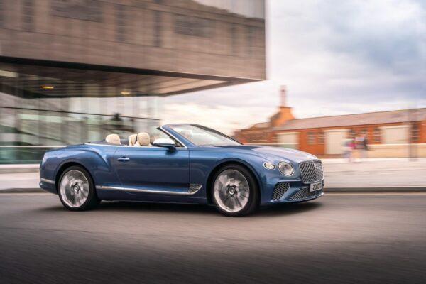 Continental GT Mulliner Convertible 12 min