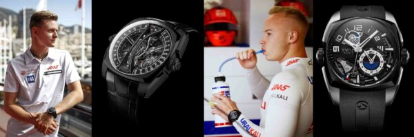 Cyrus Haas F1 Team vozači i satovi