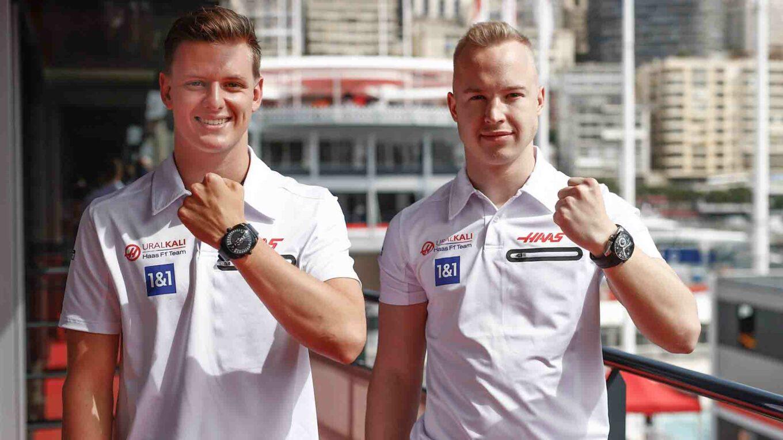 Cyrus Haas F1 Schumacher Mazepins