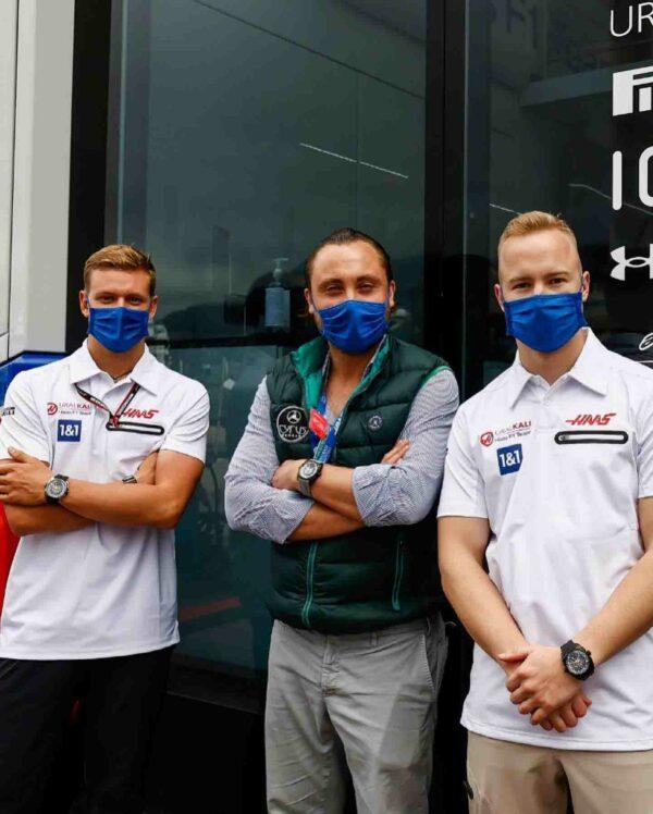 Cyrus Haas F1 Schumacher Richard Mazepin