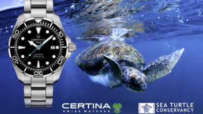 Certina DS Action Diver Sea Turtle Conservancy Special Edition