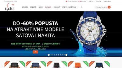 Dicta web shop
