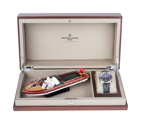 Frederique Constant Runabout RHS Chronograph AutomaticGIFTBOX WOODRUNABOUT FC 392RMG5B6 SD