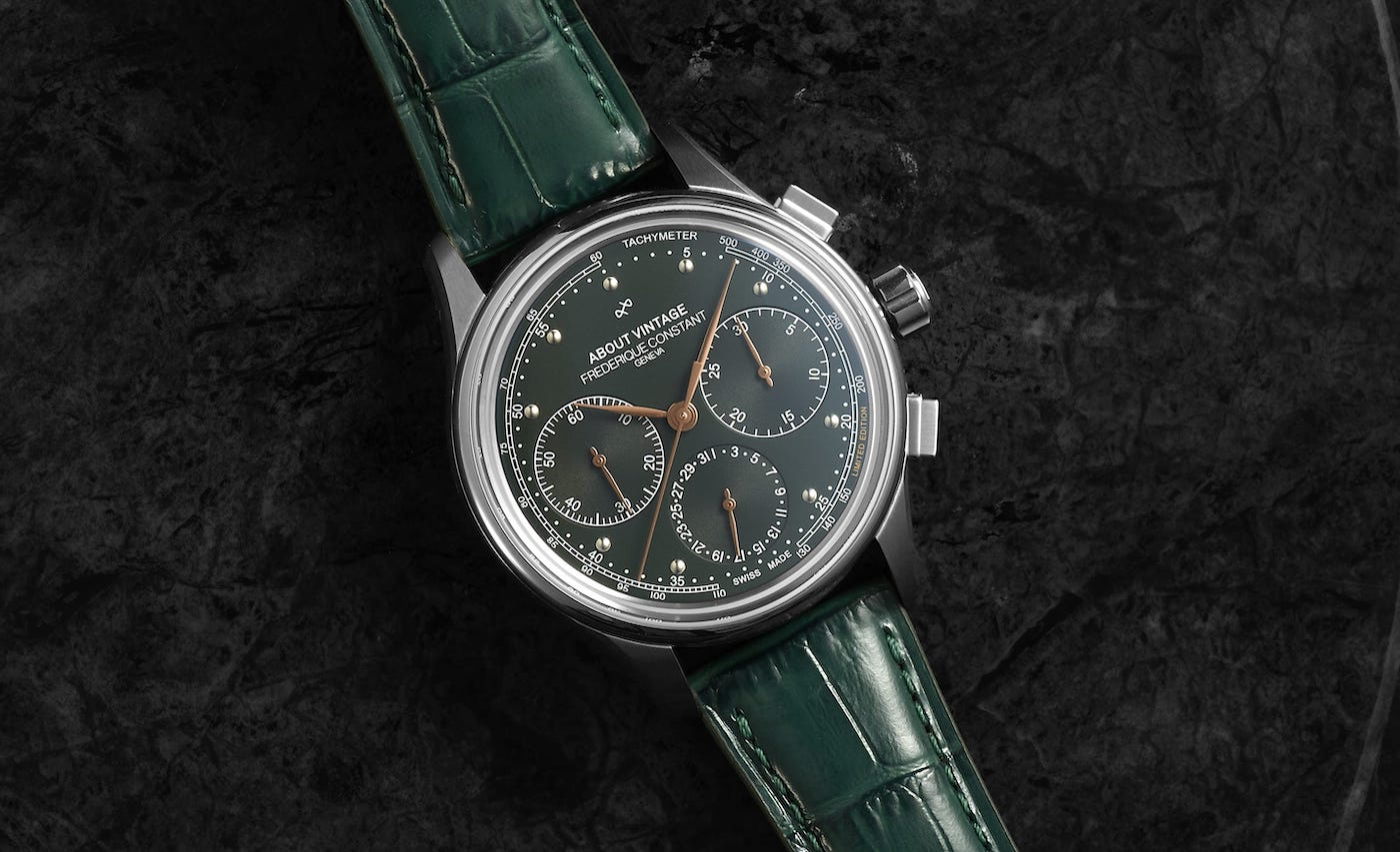 FC 1988 Flyback Chronograph About Vintage 2 min
