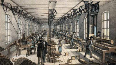 Faber Castell production 1861