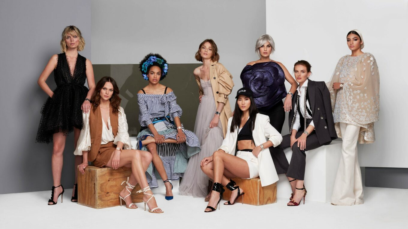 Frederique Constant Highlife Ladies Campaign Group 1
