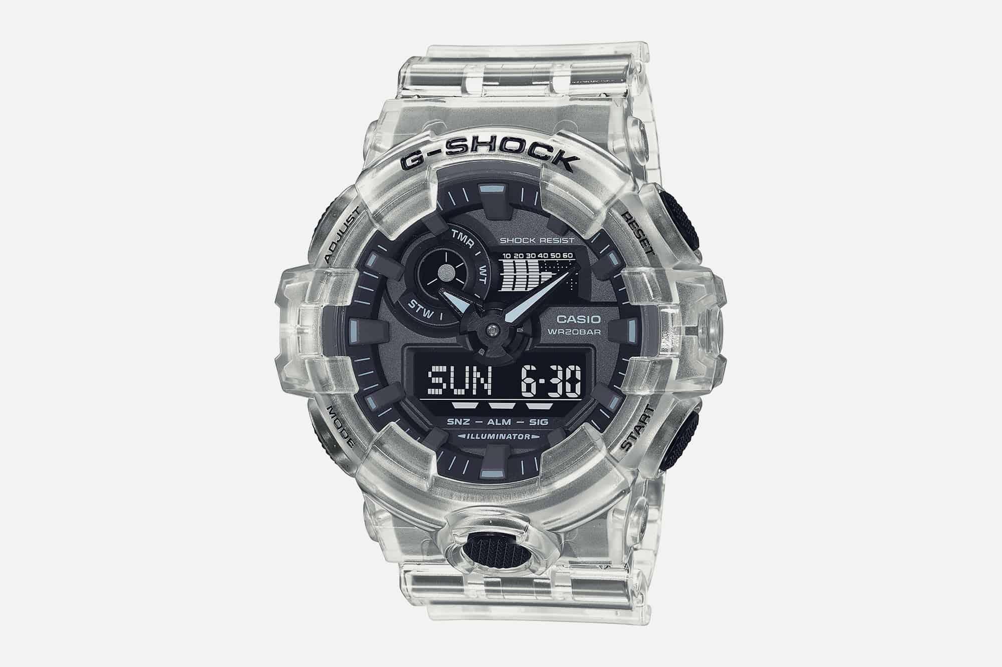 G Shock Transparent 4