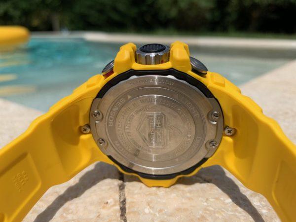 Casio G-Shock GWN-1000-9AER odostraga s spojevima remena i kućišta