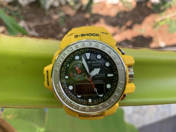 Casio G-Shock GWN-1000-9AER na listu banane