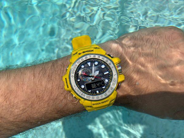 Casio G-Shock GWN-1000-9AER pod vodom do 200 m