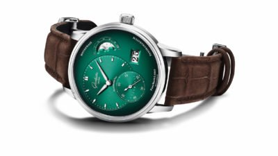 Glashütte Original PML Forest Green 1 90 02 13 32 31 Cut Out 25cm rgb