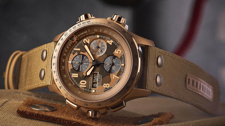 Hamilton Khaki X Wind Automatic Chronograph 1 min