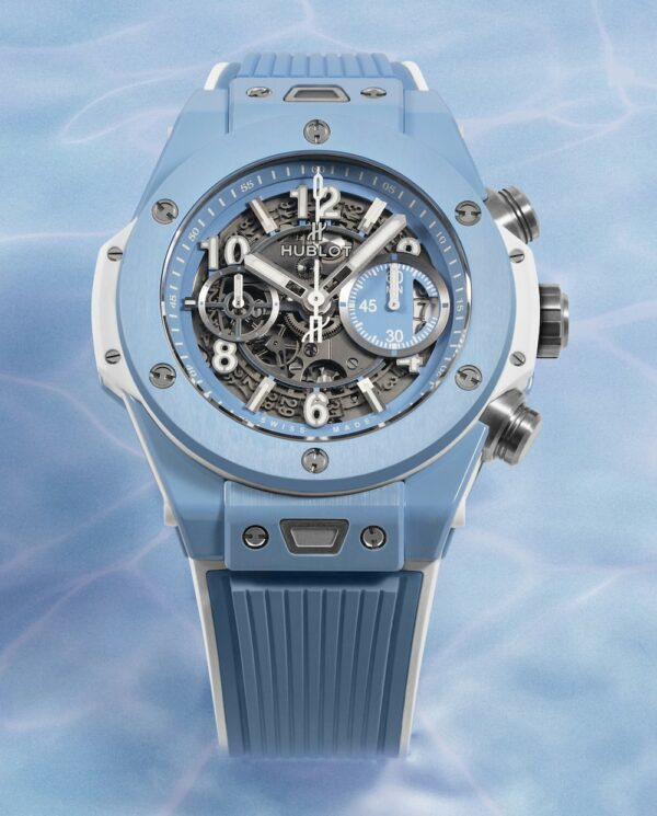 Hublot Big Bang Unico 45 Sky Blue 3 min