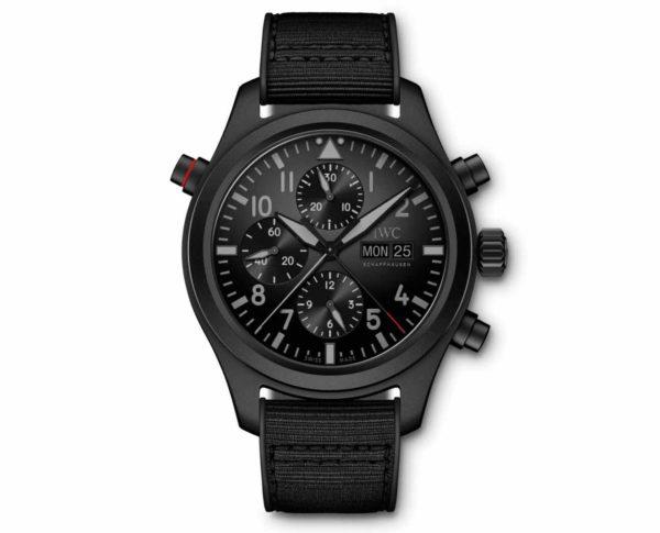 IW371815_Pilot's Watch Double Chronograph TOP GUN Ceratanium