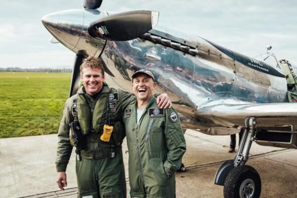 "IWC BIG PILOT'S WATCH BIG DATE SPITFIRE EDITION ""MISSION ACCOMPLISHED"" pilots"