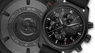 IWC Schaffhausen Pilot's Watch Double Chronograph TOP GUN Ceratanium