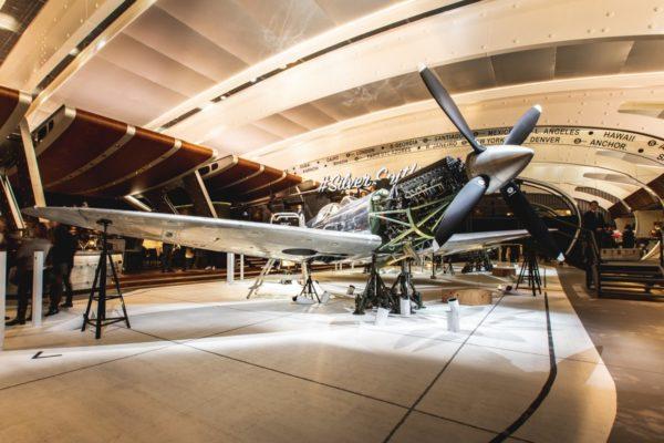 IWC Schaffhausen Spitfire salon SIHH 2019.