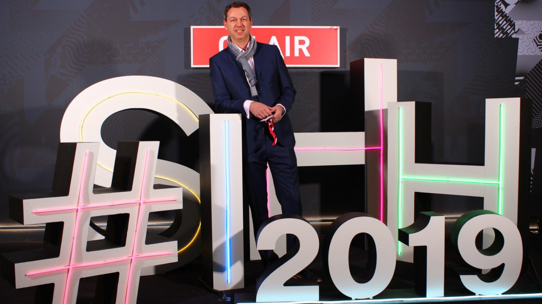 Igor Sertić na sajmu SIHH 2019