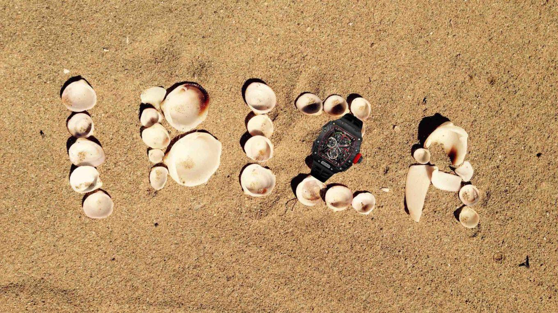 Ilustracija Ibiza Richard Mille