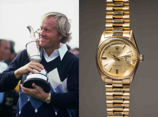 Jack Nicklaus 1978 British Open Rolex Day Date