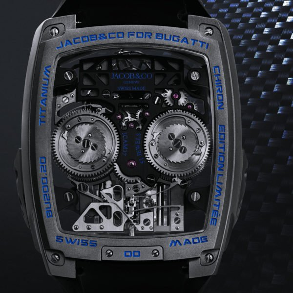 Jacob and Co Bugatti Chiron Tourbillon 6