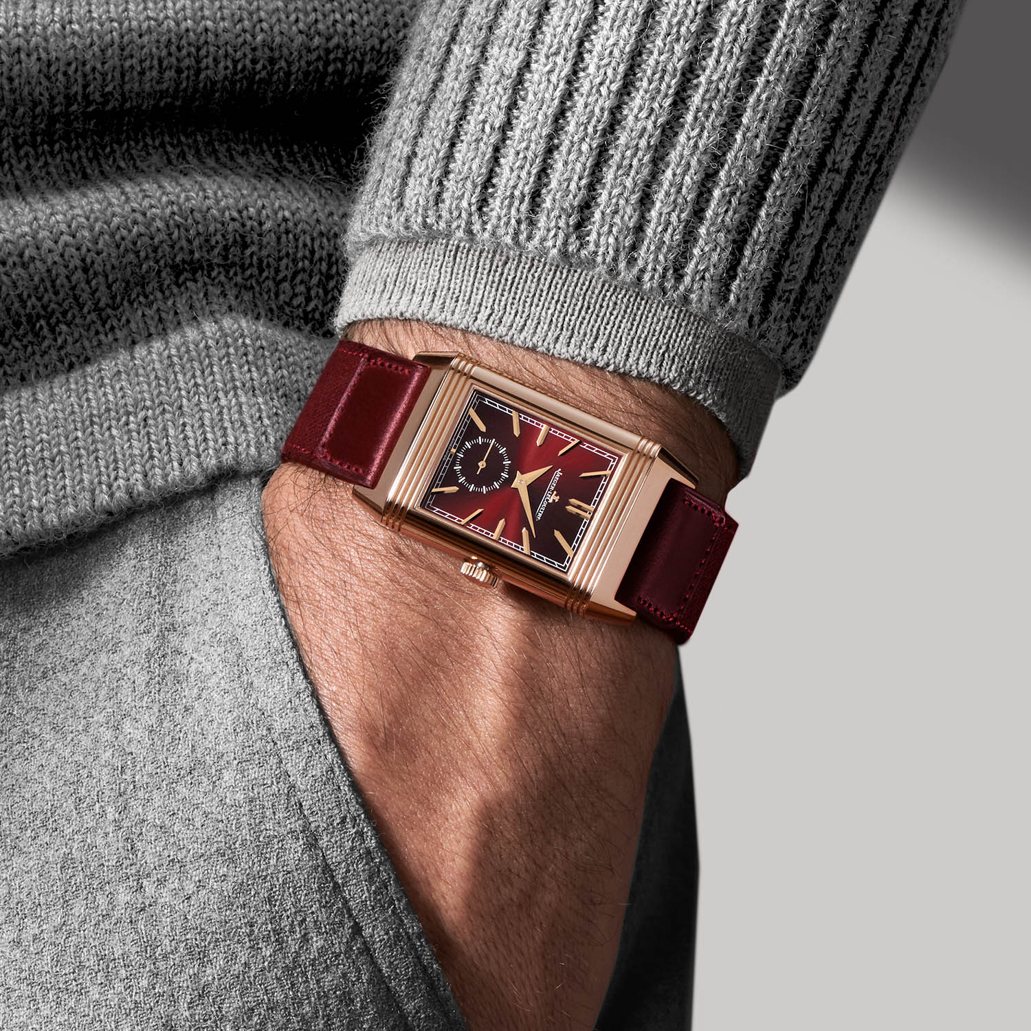Jaeger LeCoultre Reverso Tribute DuoFace Fagliano Burgundy Limited 14