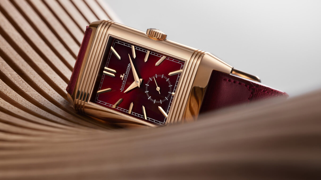 Jaeger LeCoultre Reverso Tribute DuoFace Fagliano Burgundy Limited 15