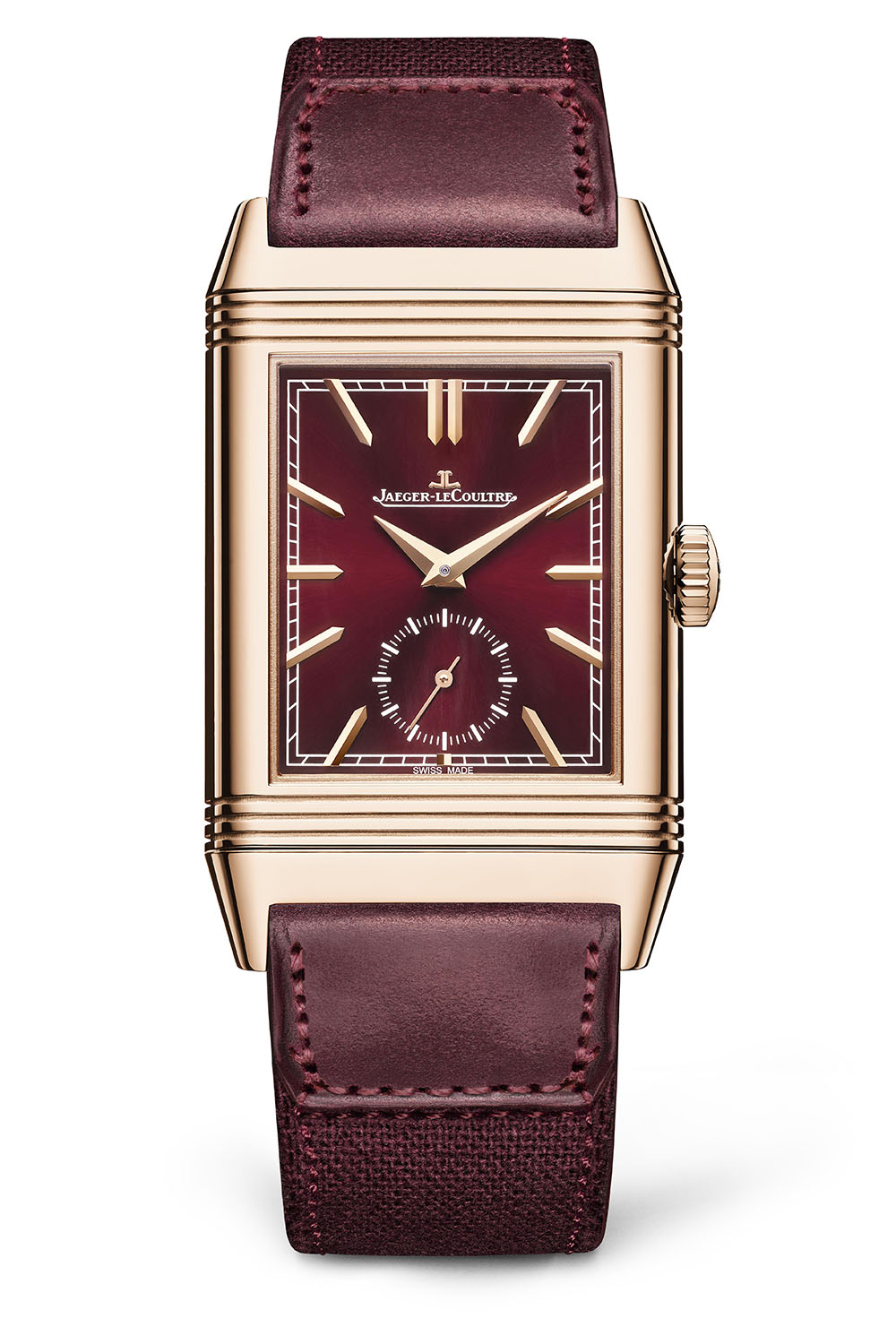 Jaeger LeCoultre Reverso Tribute DuoFace Fagliano Burgundy Limited 17 1