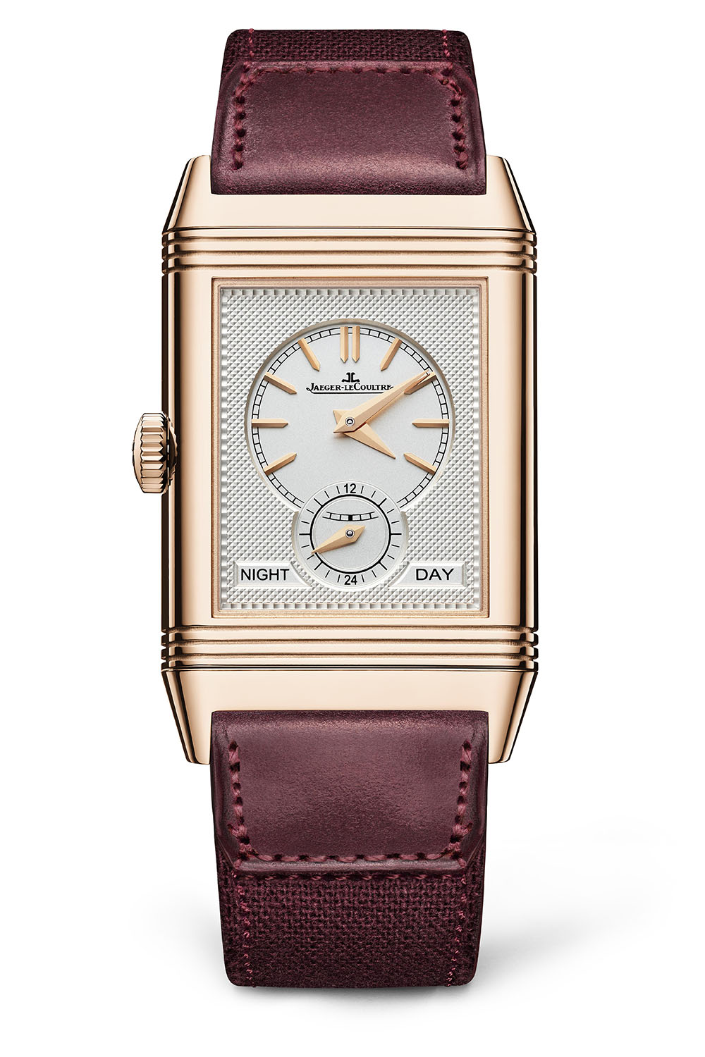 Jaeger LeCoultre Reverso Tribute DuoFace Fagliano Burgundy Limited 18