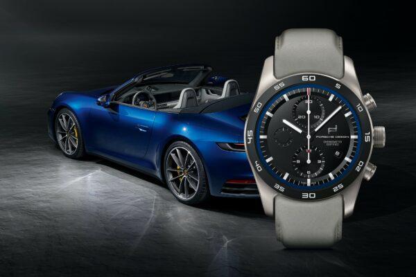 KV custom built Timepiecs 911 Carrera 4S Cabrio Gentian Blue Slate Grey
