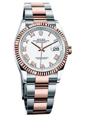 Rolex Datejust 36 Everose Rolesor 116231-72601