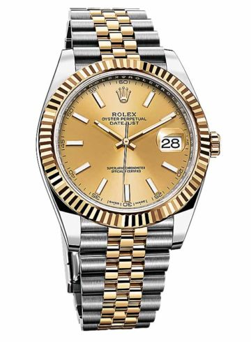 Rolex Datejust 41 Yellow Datejust 126333-62613
