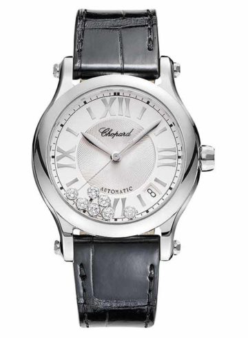 Chopard Happy Sport 36 mm Automatic with Dancing Diamonds 278559-3001