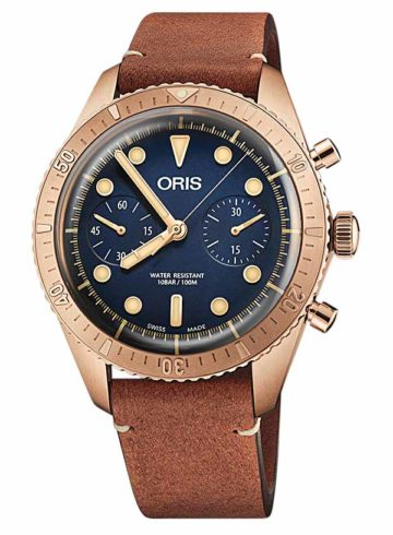 katalog Oris Divers Carl Brashear Chronograph Limited Edition 01 771 01 7744 3185-Set LS