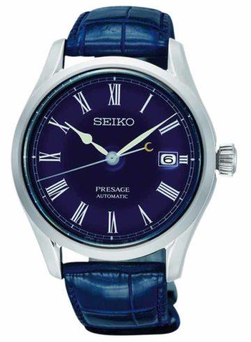 Seiko Presage Moonlit Night Blue Enamel Limited Edition SPB069J1