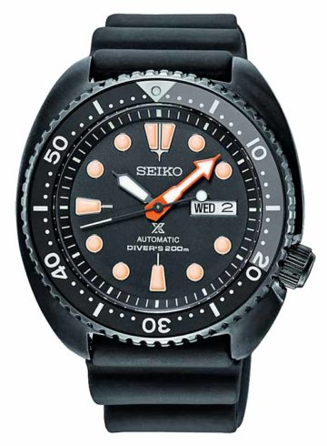 Seiko Prospex Black Series Limited Edition SRPC49K1