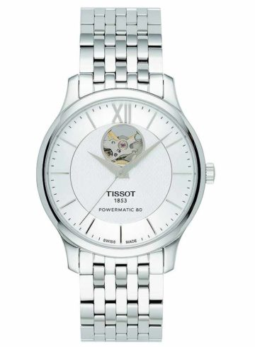 Tissot Tradition Povermatic 80 Open Heart T063.907.11.038.00