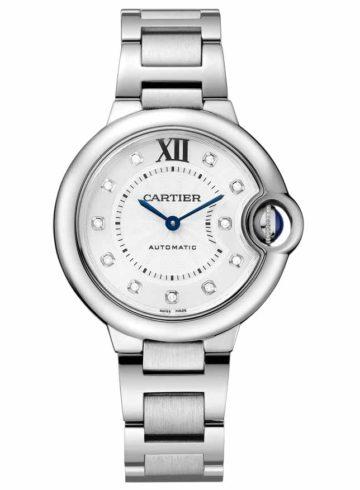 Cartier Ballon Bleu de Cartier with Diamond Indexes WE902073