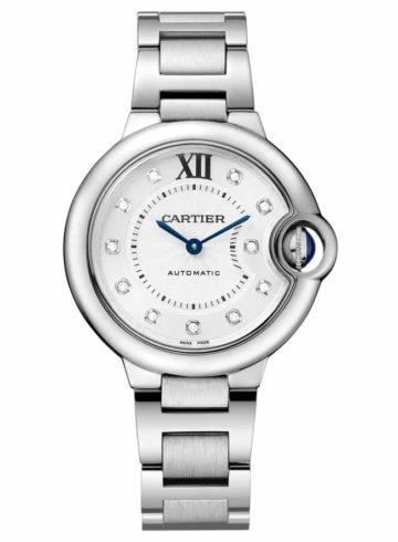 Cartier Ballon Bleu de Cartier with Diamond Indexes WE902074