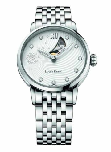 Louis Erard Emotion with Diamond Indexes 64603AA11.BMA31