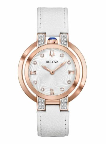 Bulova Rubaiyat with Diamond Indexes 98R243