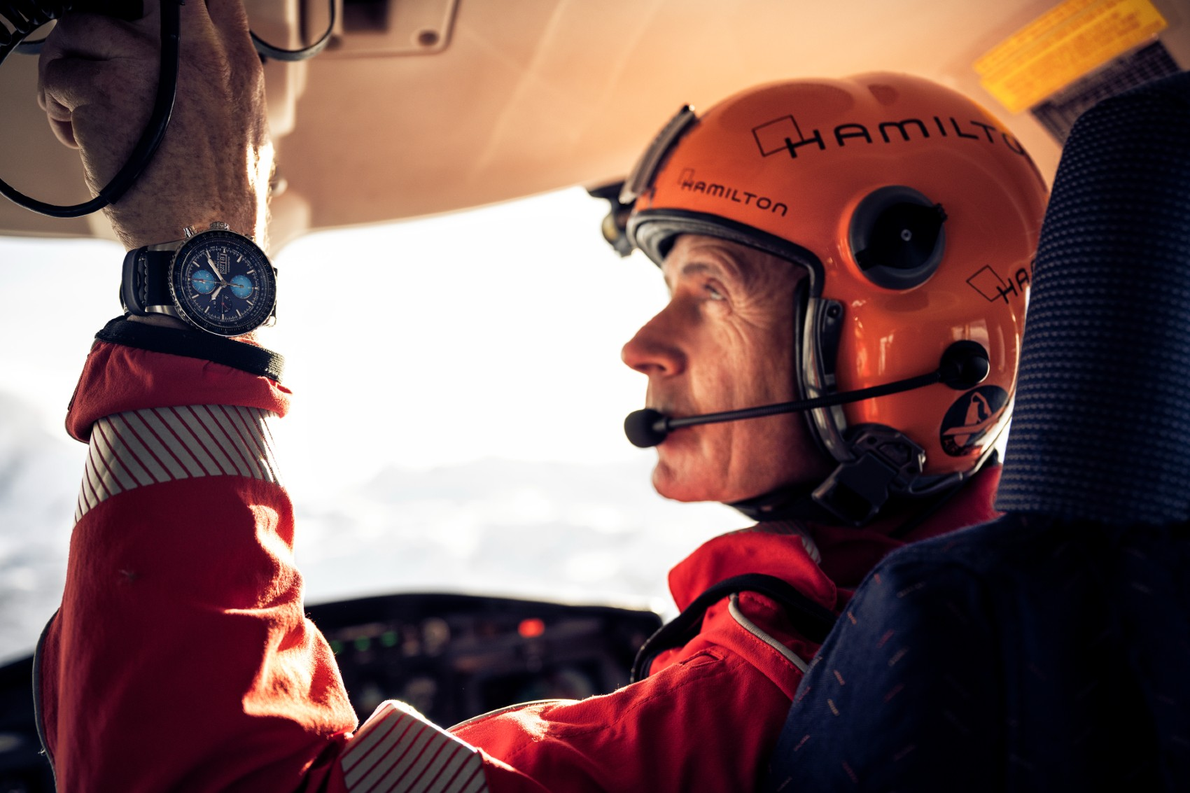 Khaki Aviation Converter Auto Chrono Air Zermatt Edition H76706730 Lifestyle 3 10926