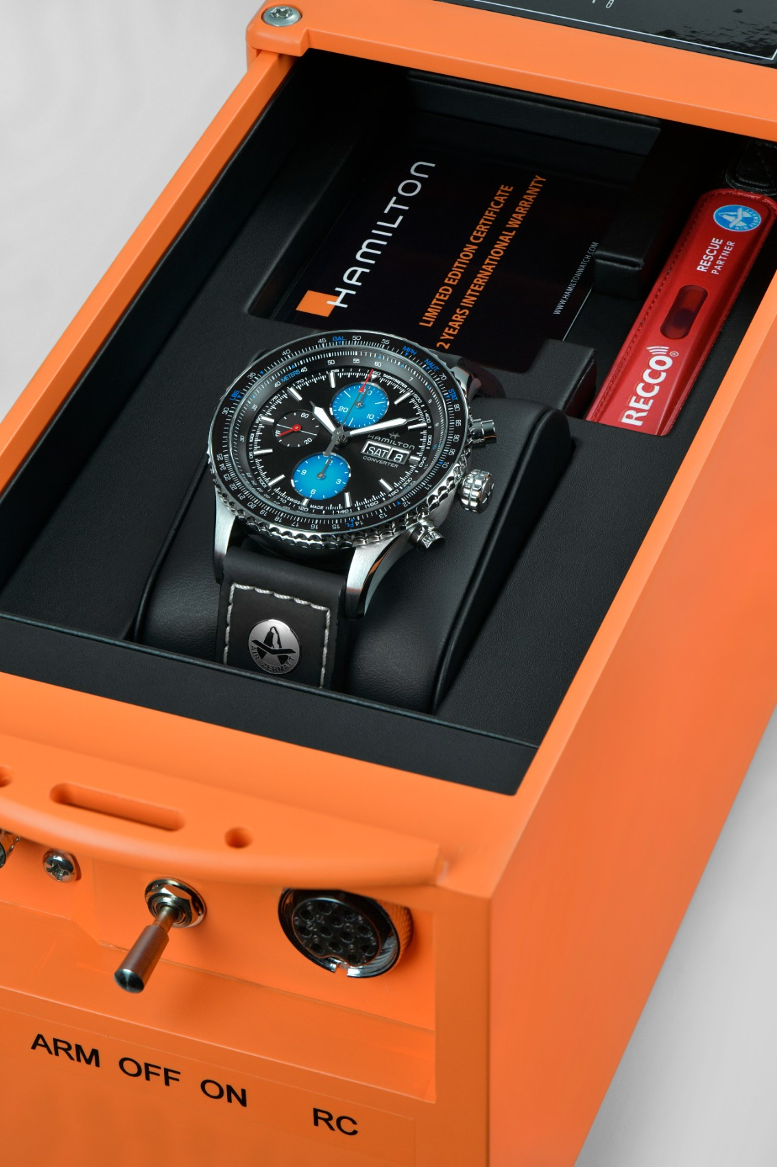 Khaki Aviation Converter Auto Chrono Air Zermatt Edition H76706730 Packaging 2 10934