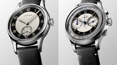 Longines Heritage Classic Tuxedo Collection 2020 1