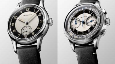 Longines Heritage Classic Tuxedo Collection 2020 1