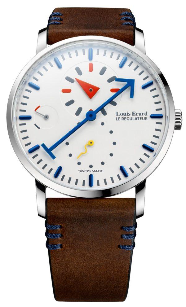 Louis Erard Alain Silberstein Regulator Watch 3