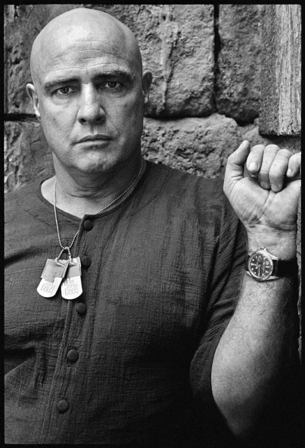 Marlon Brando on the Set of Apocalypse Now