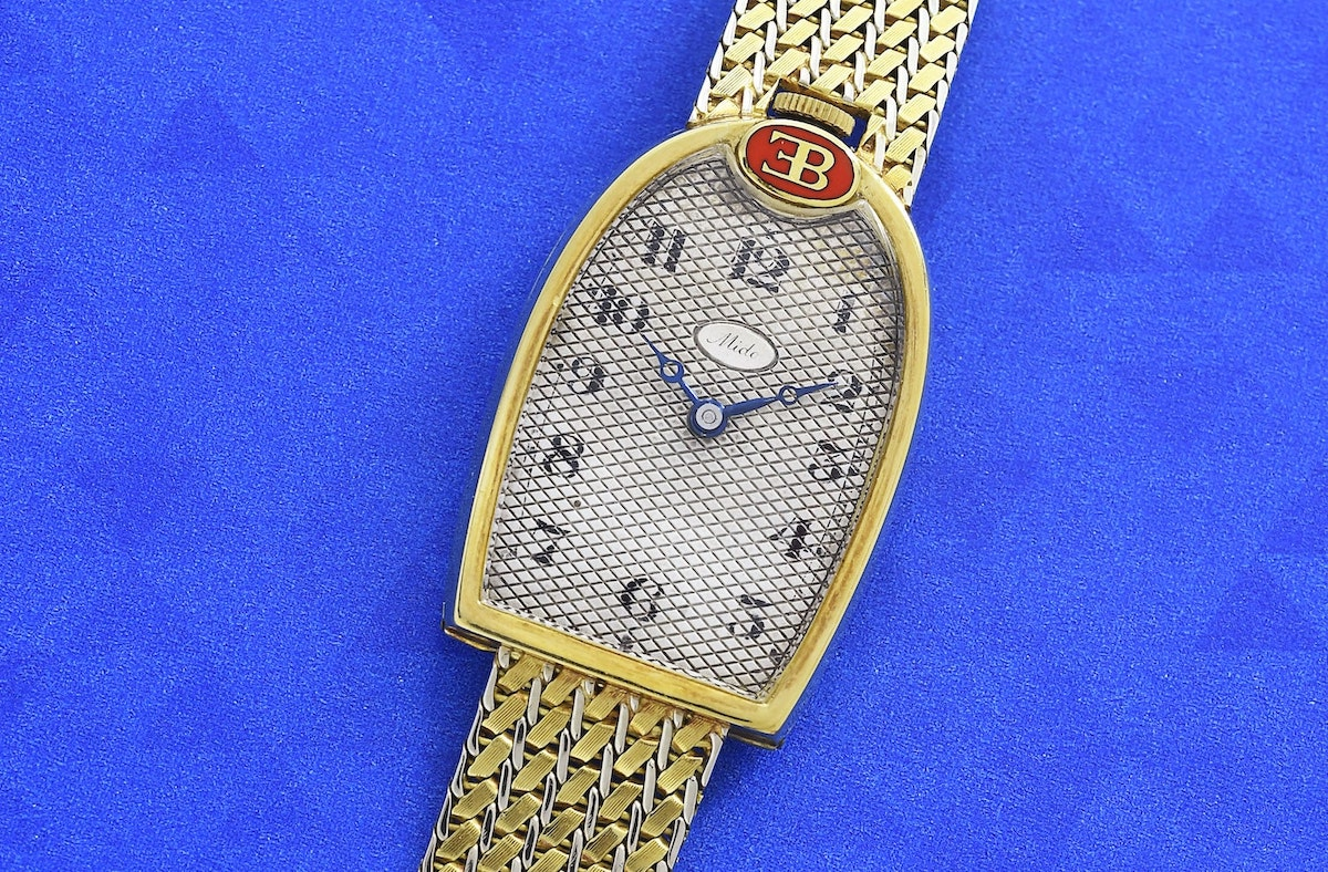 Mido Bugatti EB watch Face 2 Vintage Watch Story Cite de lAutomobile Collection Schlumpf. min
